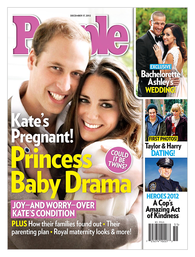 Princess Kate Pregnant People Magazine